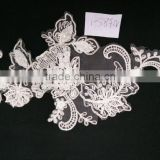 New arrival best quality with good price white heavy material indian lace fabrics