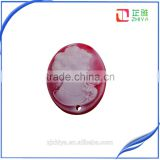 wholesale new design good quality loose resin cameo