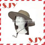 Bucket Flap Hat Wholesale Safari Bucket Hat With Flap Neck Cover