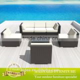 Poly garden furniture rattan garden furniture set