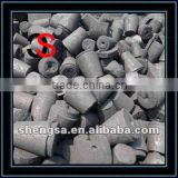 high carbon low price graphite electrode scrap FC98% and FC98.5% for foundary and steel making