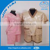 2015 wholesale satin pajamas with shorts pattern for home