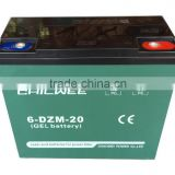 Inquiry about Chilwee Brand Electric bike battery, 12V 20Ah