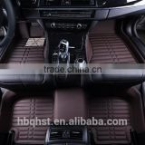 Full set 3d car carpet car foot mats for different cars