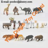 bulk plastic animal toys small mini plastic animal toys