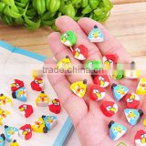 New Type Promotional Gift Food & Fruit & Animal Shape Puzzle Rubber Eraser For School Children