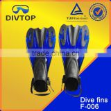Scuba Diving Fin With Adjust Strap And Quick Release Buckles