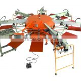 AUTOMATIC TEXTILE EQUIPMENT/Industrial Garment Rotating Screen Printing Machine