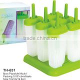 6pcs ice maker popsicle molds lolly moulds