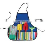 2016 hot sale!! new fashionalbe garden tool set in apron