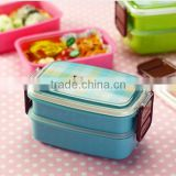 Microwave Oven Clear Plastic Lunch Box, High Quality Lunch Box,Custom Plastic Compartment Lunch Box