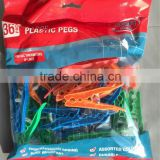 2014 new designed multicolored plastic cloth with springer large pegs,Direct factory/Manufactory supply/industrial