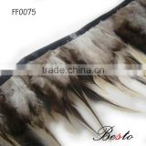 Cheap wholesale natural rooster tail feathers for indian headdress decoration