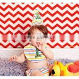 Baby Boy Birthday Party Suit 3pcs Baby Toddler 1 Year Suit with Hat and Neck Tie Boys Suits for Photography