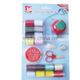 Mini travel sewing kit with blister card packages