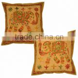 Indian Printed Cotton Cushion Cover
