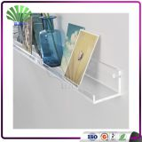 Wholesale Clear Acrylic Tiers Salon Display Shelf Lucite Wall Bookcase Plexiglass Corner Shelf