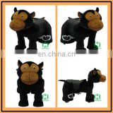 Custom plush electric animal ride riding animal toys stuffed hot sale 12v electric ride on toys