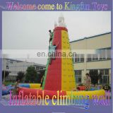 Rocket inflatable climbing hill