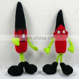 cute plush and stuffed paprika vegetable toy