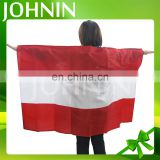 Wholesale Durable Polyester Silk Screen Printing 3*5 FT All Countries National Body Flags Cape