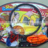 Wooden basketball board toy basketball nets