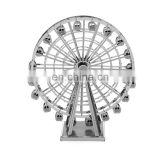 3D Metal ferris wheel Star Puzzle War AT-AT Walker R2D2 TIE Fighter Millennium Falcon 10179 Destroyer X Wing robot toy