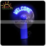 led message usb fan, program usb led fan, led custom message fan