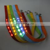 Light up LED pet leash