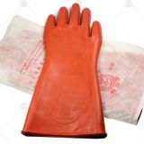Insulation Rubber Hand Gloves Electrical factory direct sale