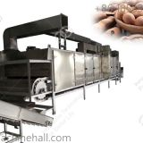High effiency nuts roasting machine for sale/tamarind seed roaster machine China supplier