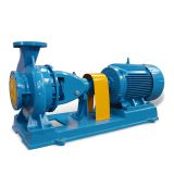 IS High efficiency single stage end suction cheaper centrifugal pump
