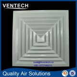 HVAC Square Supply Air Diffuser, High Ceiling Square Diffuser