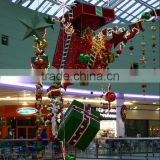 New design shopping mall hanging ceiling decorations