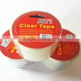 single packed adhesive packing tape with hanger card