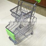 Double Layer Mini Shopping Cart Best Hot Toys For 2015 Christmas Gift Toy Hand Cart 1225