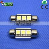 5050 3SMD LED Car Interior Light Festoon Dome canbus Adapter Car Vehicle LED Panel/festoon light