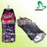 Custom printed drinking plastic water pouches