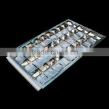 600*1200 Fluorescent grid lighting fixture louver fitting LED grille lamp