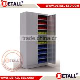 high density storage cabinet combine a stylish industrial design with practical accessories to provide efficient parts