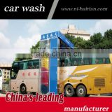 Hot sell Rollover bus wash machine with Italy brushes, high-quality bus wash machine price