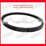 Part No.23100-GFM-9010-M1 NHX110/LEAD110 Small Drive Belt Round Rubber Drive Belts Bike Frame Belt Drive