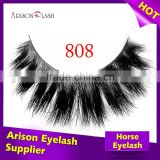 private label horse fur lashes, 3d mink eyelashes,mink strip eyelashes mink the eyelash extension                                                                         Quality Choice