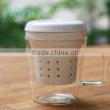 INQUIRY about tea mug, uni-mug, glass mug, heat resistance glass mug, Uni-mug, porcelain filter, 1 borosilicate glass mug