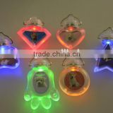 High Visibility Flashing LED Pet Dog Cat Safety Light Collar ID Name Tag - series design