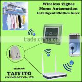 TAIYITO wireless bidirectional domotica zigbee touch screen electric clothes air smart home automation