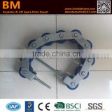 XAA332X,Escalator Handrail Chain, 8 Rollers,Chain Plate Length 70xWidth 35xThinkness 5,Roller 65x55