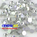 Wholesale 14 cuts non hotfix crystal rhinestones, non hotfix crystals, non hotfix beads para wedding dress
