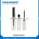 New Design Aluminum Silver Cap and Clear Transparent Bottle Plastic Empty Tube For Mascara