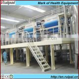 Multi-functional potato chips processing line